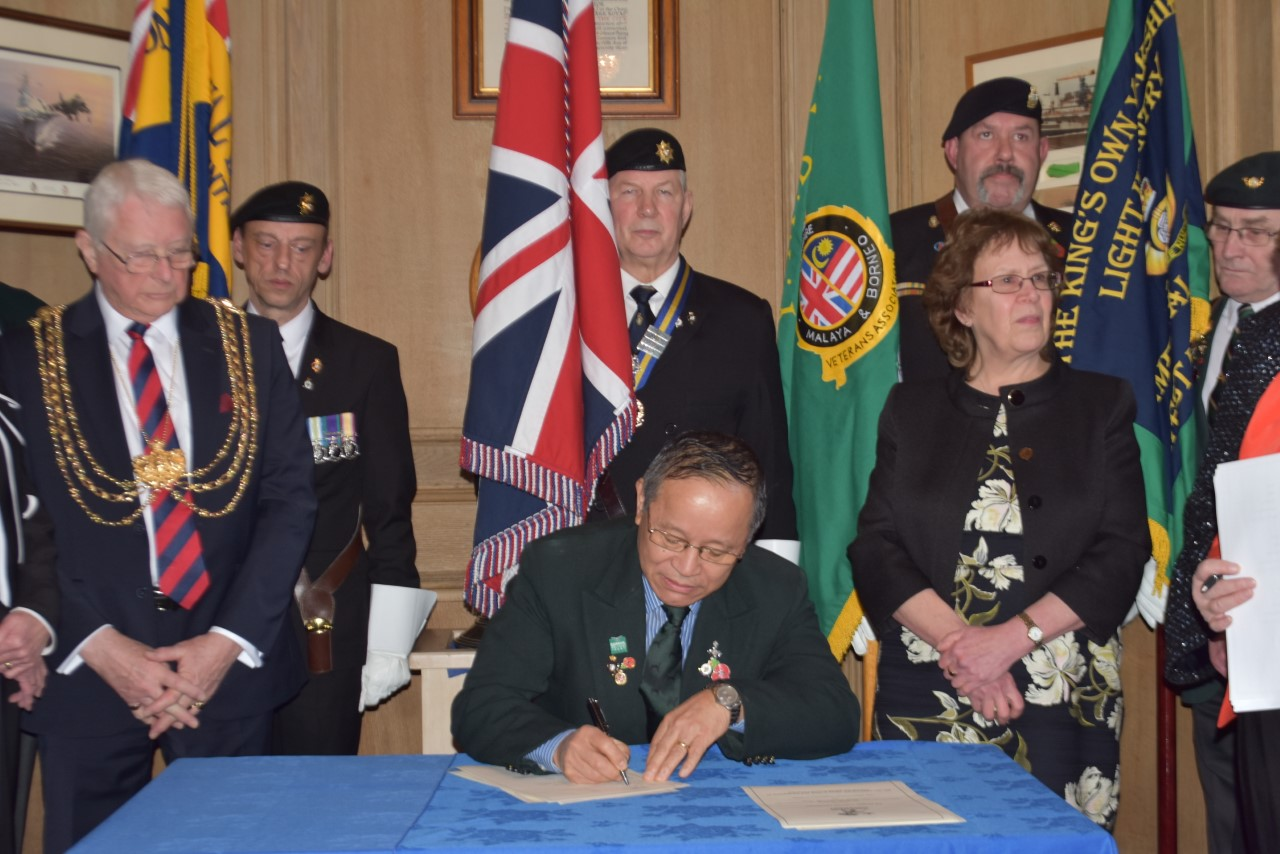 Leeds Nepalese Community (LNC) attended the Leeds Armed Forces Covenant Re-signing