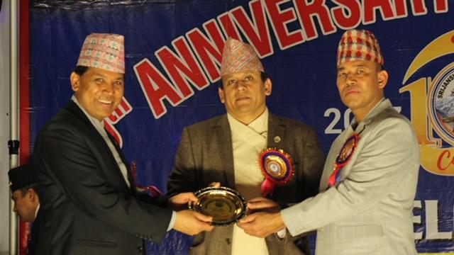 सृजनशिल नेपाली समाज युकेले दसौं बार्षिकोत्सव मनायो