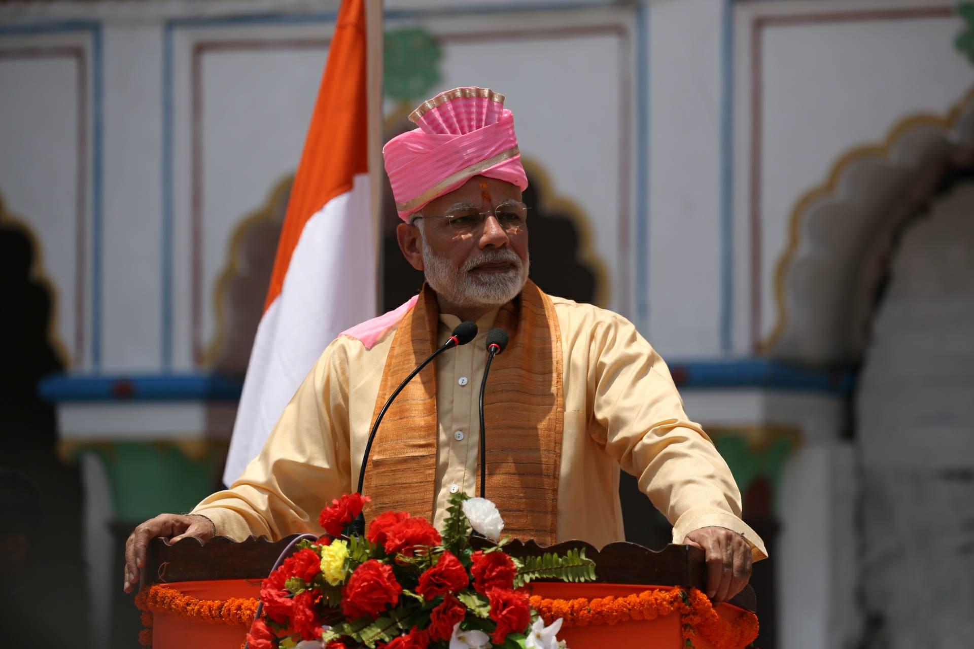 भारतीय प्रधानमन्त्री मोदी नेपाल भ्रमणमा, जनकपुरमा स्वागत