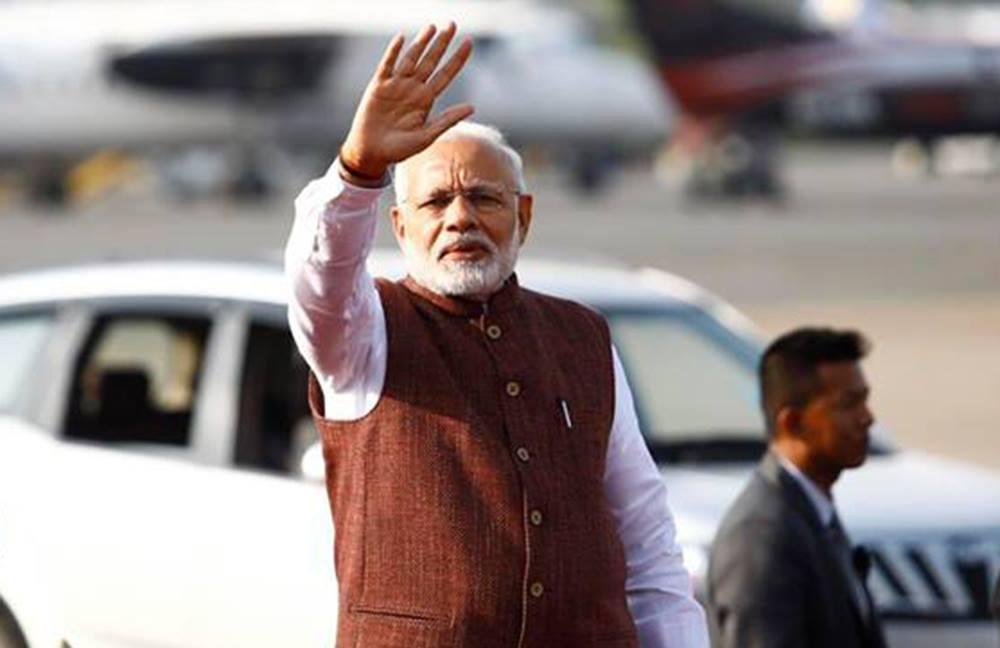 विशेष विमानबाट नयाँदिल्ली फर्किए भारतीय प्रधानमन्त्री मोदी