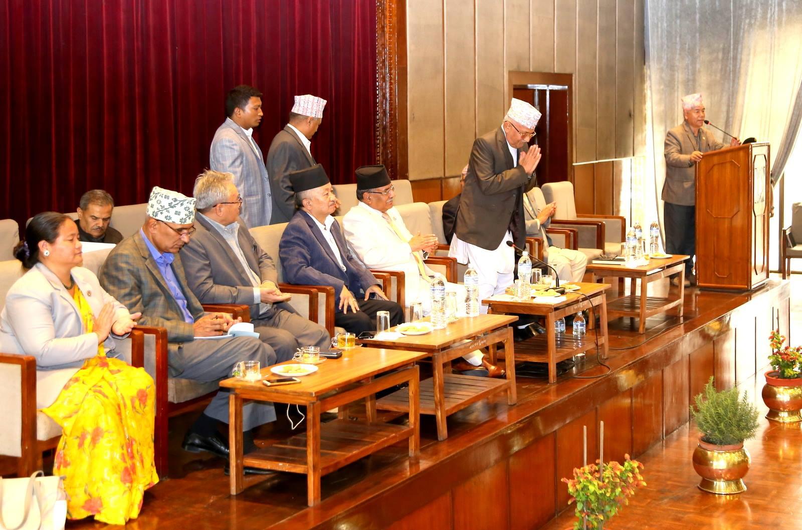 नेकपा संसदीय दलको नेता बने ओली