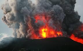 ज्वालामुखी विस्फोटमा परी मृत्यु हुने ७५ पुगे