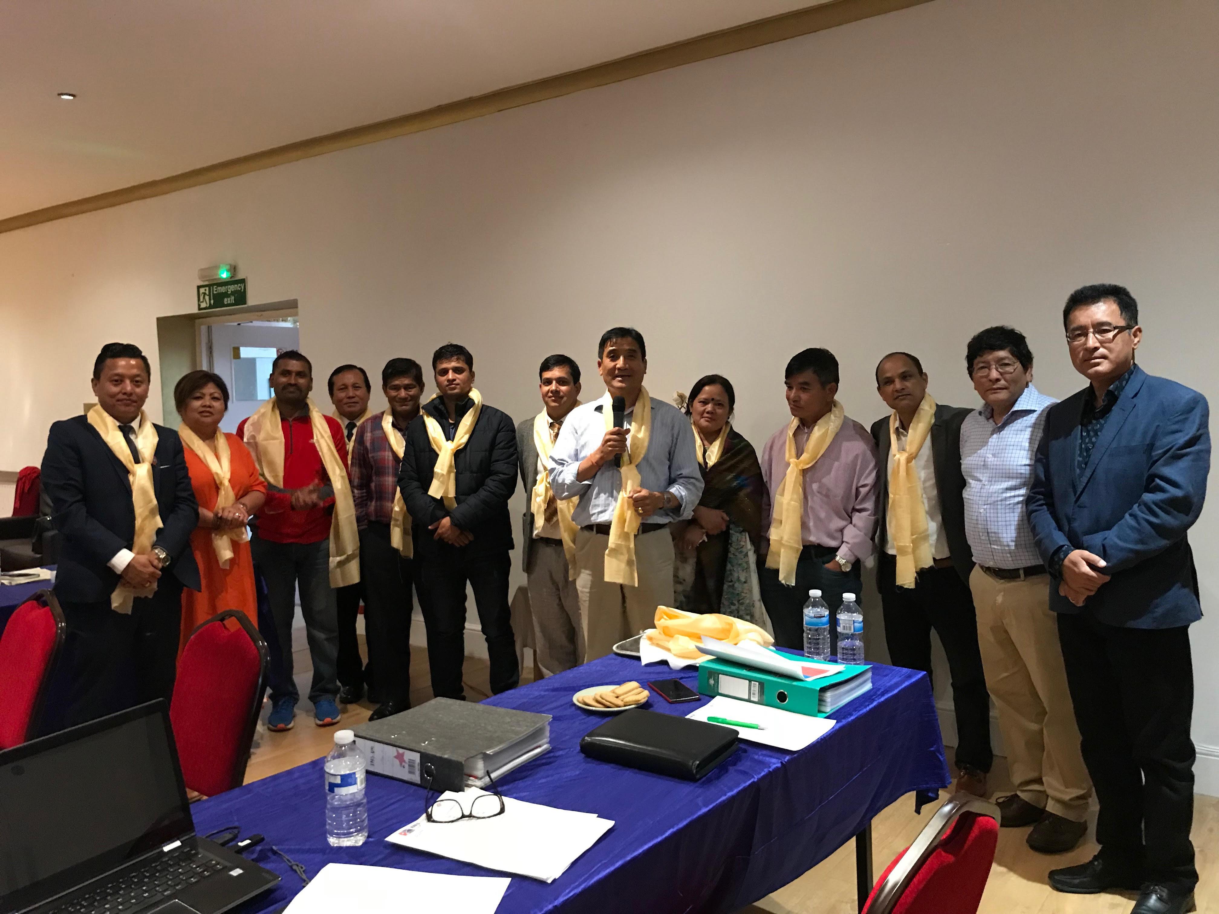 अन्तर्राष्ट्रिय नेपाली समाजका अध्यक्षमा चन्द्र निर्वाचित