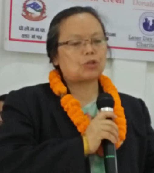 महिला, बालबालिका तथा जेष्ठ नागरिक मन्त्रि बेलायत भ्रमणमा