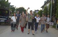 गण्डकी नामकरण विरुद्ध तनहुँमा सिट्ठी जुलुस