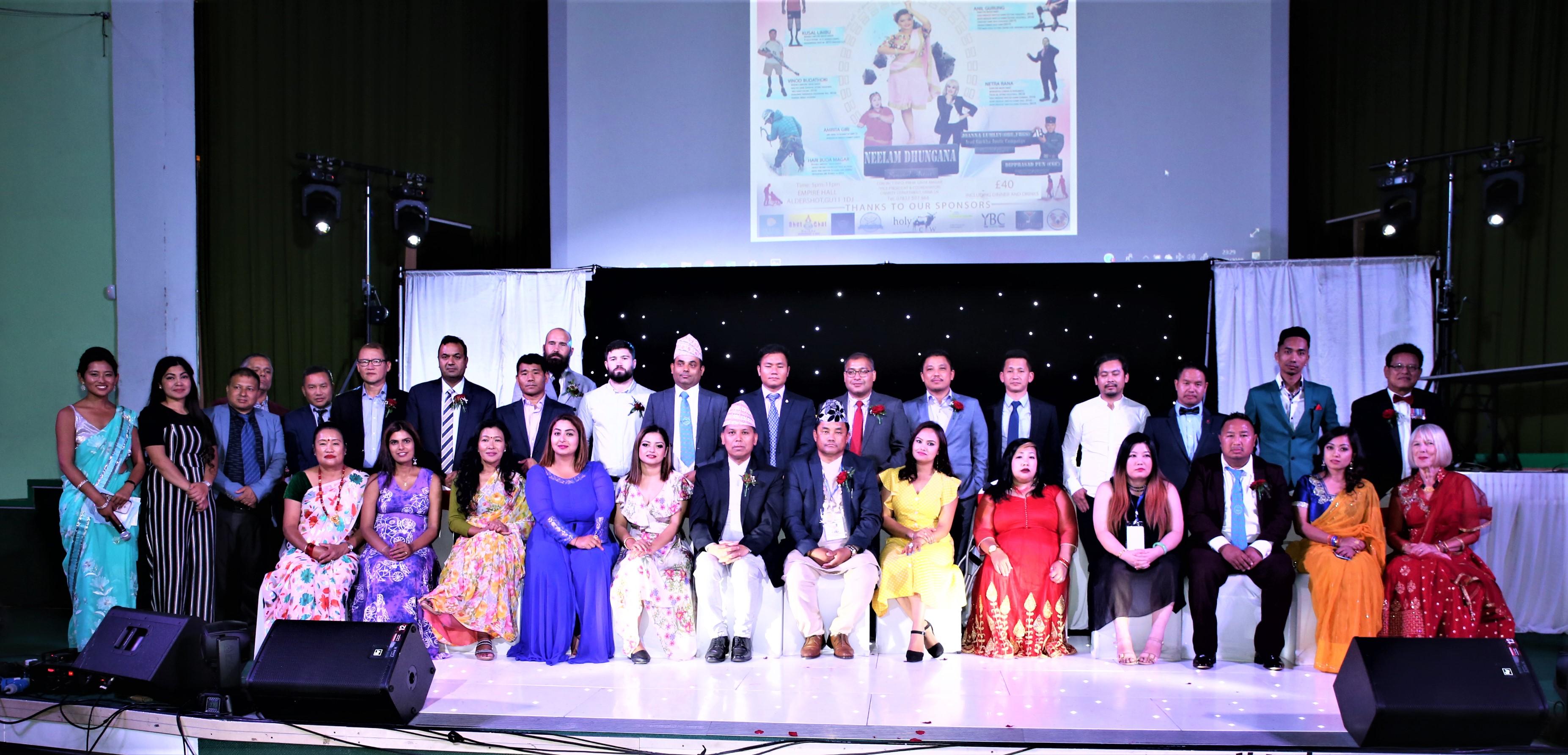 एनआरएनए युकेको कार्यक्रम : कलाकारको प्रस्तुतिले दर्शकका थामिएन आँसु