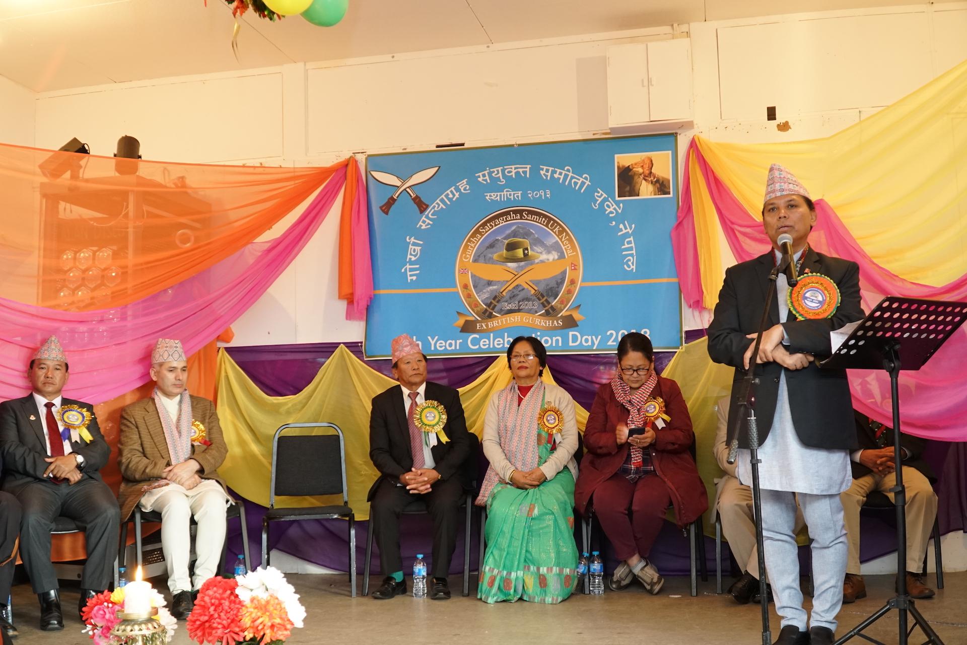 नेपाली राजदूतद्वारा आन्दोलन नगर्न भूपू गोर्खालाई अनुरोध