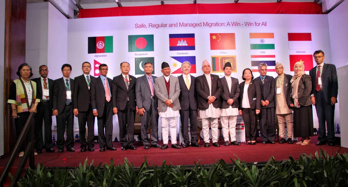 २७ बुँदै काठमाडौँ घोषणापत्र जारी गर्दै 'कोलम्बो प्रोसेस'सम्पन्न, टिएसयूलाई निरन्तरता दिने निर्णय