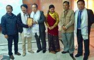 सिक्किममा चलचित्र 'आसे' प्रदर्शन, निर्देशक लाफा सम्मानित
