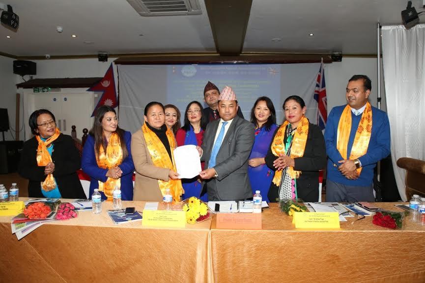 एनआरएनए युकेद्वारा उपसभामुखसहित महिला नेतृको स्वागत, गैरआवासीय नेपालीको मुद्दामा सहयोग प्रतिबद्धता