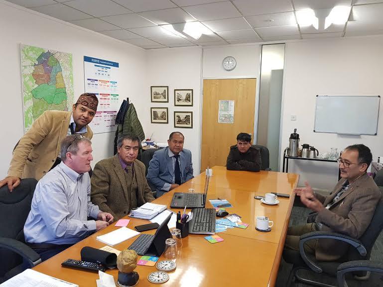 शिव कल्चरल एन्ड कम्युनिटी सेन्टर र लिडर अफ काउन्सीलबीच भेटघाट