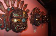 पाटन संग्रहालयमा द मास्क प्रदर्शनीमा