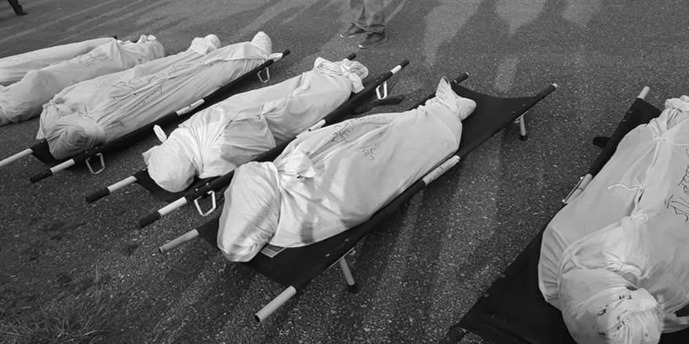 दाङ बस दुर्घटनामा मृत्यु भएका २३ जनाकै सनाखत
