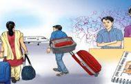 नेपालबाट विदेशमा काम गर्न जानेको संख्या घट्यो