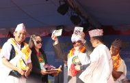 पत्रकार डण्ड गुरुङद्वारा लिखित 'निरन्तर नेतृत्व' पुस्तक विमोचन